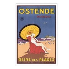 Ostend Belgium Postcards (Package of 8)