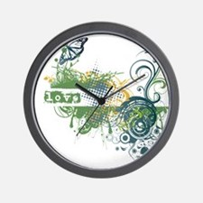 Green Love Chakra! Wall Clock