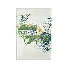 Green Love Chakra! Rectangle Magnet
