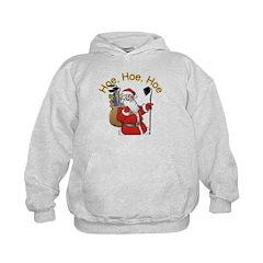 Hoe Hoe Hoe Santa Hoodie