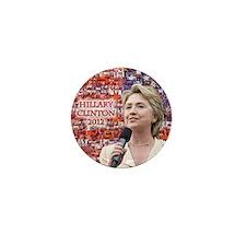 Hillary Clinton 2012 Mini Button (10 pack)