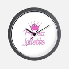 Princess Juliette Wall Clock