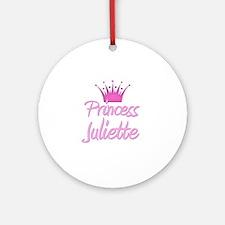 Princess Juliette Ornament (Round)