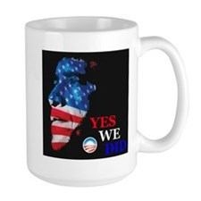 Yes We Did America Mug