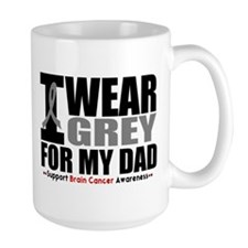 I Wear Grey Dad Mug