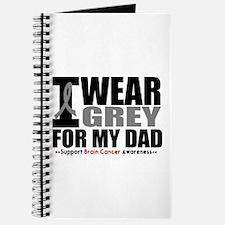 I Wear Grey Dad Journal