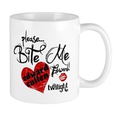 Bite Me Edward Cullen Mug