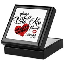 Bite Me Edward Cullen Keepsake Box