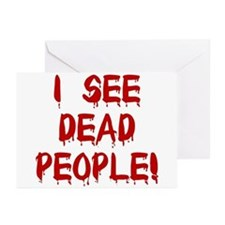 I See Dead People! Greeting Cards (Pk of 10)