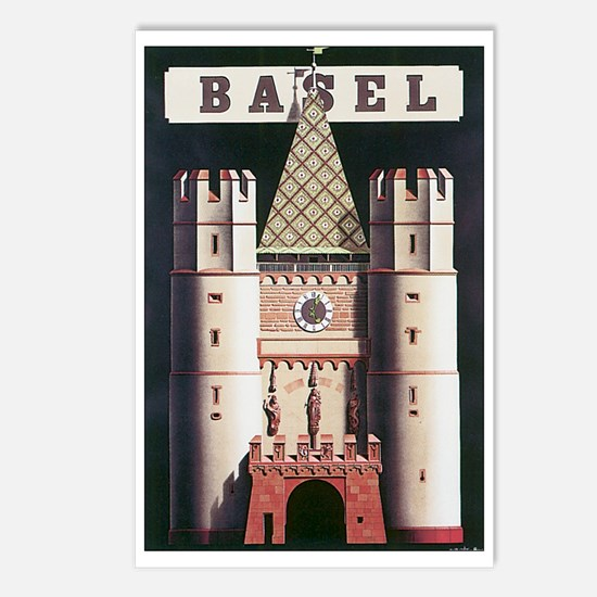 Basel Switzerland Postcards (Package of 8)