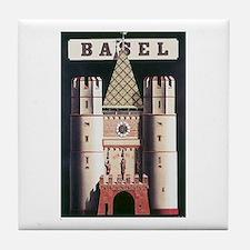 Basel Switzerland Tile Coaster