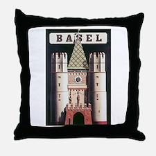 Basel Switzerland Throw Pillow