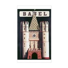Basel Switzerland Rectangle Decal