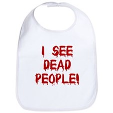 I See Dead People! Bib