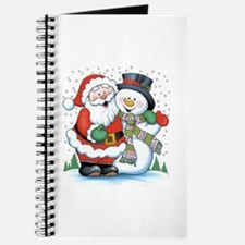 Santa and Snowman Journal