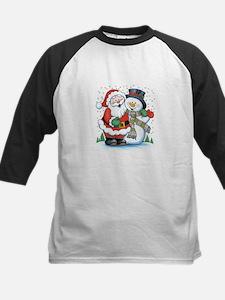 Santa and Snowman Tee