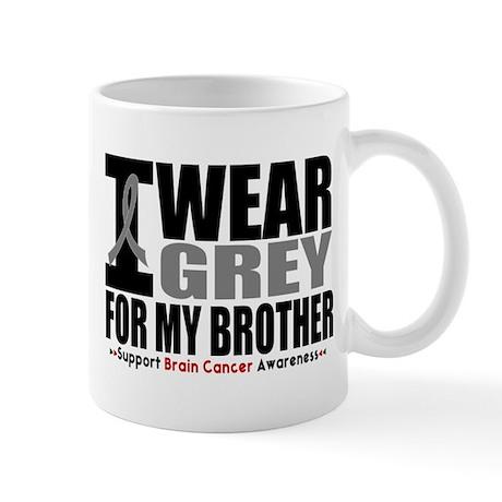 I Wear Grey Brother Mug