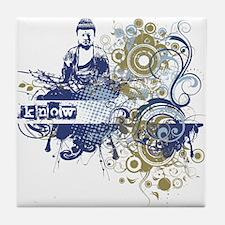 Indigo Knowing Chakra! Tile Coaster