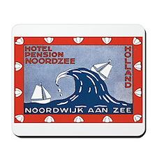 Noordzee Holland Mousepad