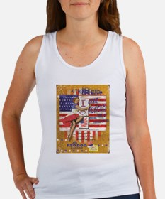 """Red Dog """"Love our Heroes"""" Women's Tank Top"""
