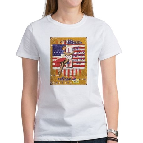 """Red Dog """"Love our Heroes"""" Women's T-Shirt"""