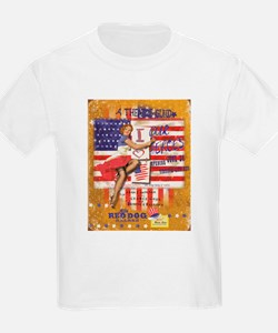 """Red Dog """"Love our Heroes"""" T-Shirt"""