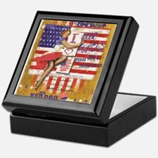 "Red Dog ""Love our Heroes"" Keepsake Box"