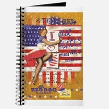 "Red Dog ""Love our Heroes"" Journal"