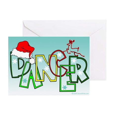 Dance Holidays Greeting Cards (Pk of 10)