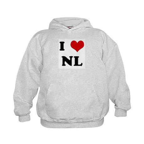 I Love NL Kids Hoodie