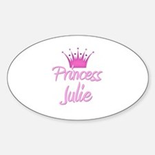 Princess Julie Oval Decal