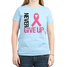 NeverGiveUp Breast Cancer T-Shirt