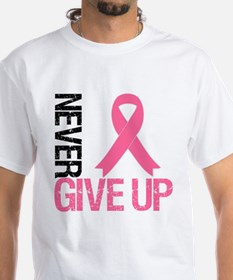 NeverGiveUp Breast Cancer Shirt