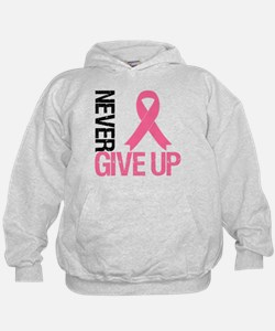NeverGiveUp Breast Cancer Hoodie