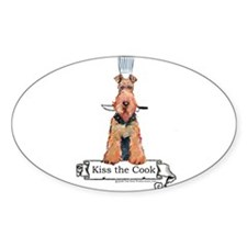 Airedale Terrier Chef Decal