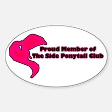 Proud Member - Oval Decal