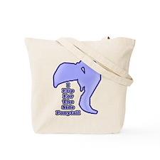 I Flip For The Side Ponytail - Tote Bag
