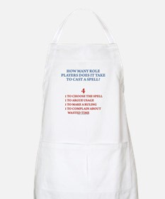 How many players... BBQ Apron