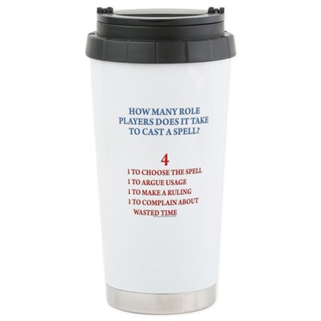 How many players... Stainless Steel Travel Mug