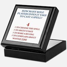 How many players... Keepsake Box