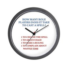 How many players... Wall Clock