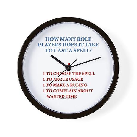 How many players... Wall Clock