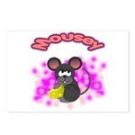 Mousey Postcards (Package of 8)