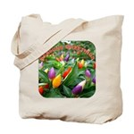 Pepper Christmas Lights Tote Bag