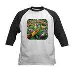 Pepper Christmas Lights Kids Baseball Jersey