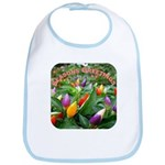 Pepper Christmas Lights Bib