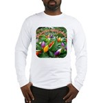 Pepper Christmas Lights Long Sleeve T-Shirt