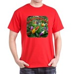 Pepper Christmas Lights Dark T-Shirt