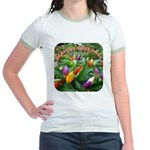 Pepper Christmas Lights Jr. Ringer T-Shirt