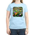 Pepper Christmas Lights Women's Light T-Shirt